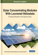 Solar Concentrating Modules With Louvered Heliostats