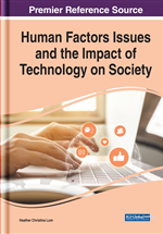 Human Factors Issues and the Impact of Technology on Society