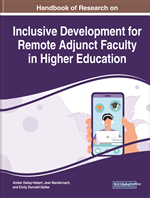 Handbook of Research on Inclusive Development for Remote Adjunct Faculty in Higher Education