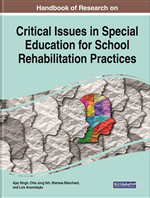 Handbook of Research on Critical Issues in Special Education for School Rehabilitation Practices