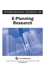 International Journal Of E Planning Research Ijepr