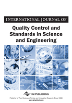 International Journal of Quality Control and Standards in Science and Engineering (IJQCSSE)