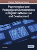 Psychological and Pedagogical Considerations in Digital Textbook Use and Development