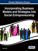 Incorporating Business Models and Strategies into Social Entrepreneurship