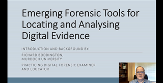 Emerging Forensic Tools for Locating and Analyzing Digital Evidence