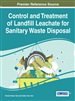 Control and Treatment of Landfill Leachate for Sanitary Waste Disposal