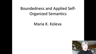 Boundedness and Applied Self-Organized Semantics