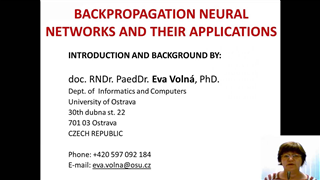 Backpropagation Neural Networks and Their Applications