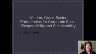Modern Cross-Sector Partnerships for Corporate Social Responsibility and Sustainability
