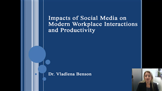 Impacts of Social Media on Modern Workplace Interactions and Productivity