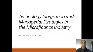 Technology Integration and Managerial Strategies in the Microfinance Industry