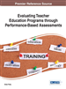 Evaluating Teacher Education Programs through Performance-Based Assessments