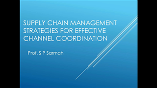 Supply Chain Management Strategies for Effective Channel Coordination