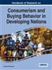 Handbook of Research on Consumerism and Buying...
