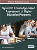 Systemic Knowledge-Based Assessment of Higher Education Programs