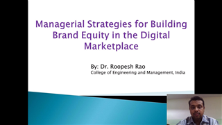 Managerial Strategies for Building Brand Equity in the Digital Marketplace