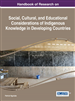Handbook of Research on Social, Cultural, and...