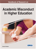 Handbook of Research on Academic Misconduct in Higher Education