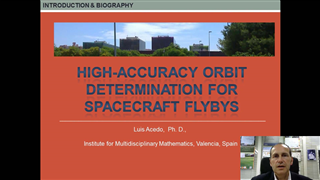 High Accuracy Orbit Determination for Spacecraft Flybys