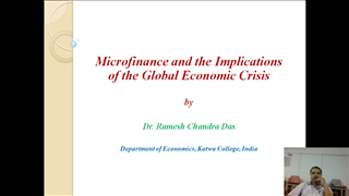 Issues of Microfinance amid the Global Financial Crisis During Pre and Post Crisis Phases