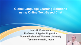 Global Language Learning Solutions using Online Text-Based Chat