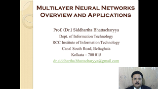 Multilayer Neural Networks: Overview and Applications