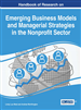 Handbook of Research on Emerging Business Models and Managerial Strategies in the Nonprofit Sector
