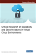 Critical Research on Scalability and Security Issues in Virtual Cloud Environments