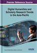 Digital Humanities and Scholarly Research Trends in the Asia-Pacific