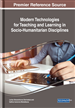 Modern Technologies for Teaching and Learning in Socio-Humanitarian Disciplines