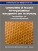 Handbook of Research on Communities of Practice for Organizational Management and Networking: Methodologies for Competitive Advantage