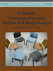 E-Health Communities and Online Self-Help Groups: Applications and Usage