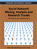 Social Network Mining, Analysis, and Research Trends: Techniques and Applications