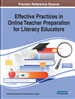 Effective Practices in Online Teacher Preparation for Literacy Educators