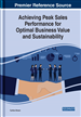 Achieving Peak Sales Performance for Optimal Business Value and Sustainability