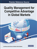 Handbook of Research on Quality Management for Competitive Advantage in Global Markets