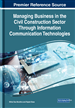 Managing Business in the Civil Construction Sector Through Information Communication Technologies
