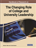 Handbook of Research on the Changing Role of College and University Leadership