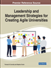 Leadership and Management Strategies for Creating Agile Universities