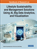 Lifestyle Sustainability and Management Solutions Using AI, Big Data Analytics, and Visualization