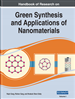 Handbook of Research on Green Synthesis and Applications of Nanomaterials