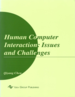Human Computer Interaction: Issues and Challenges