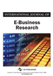 International Journal of E-Business Research, Volume 13, Issue 4