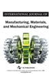 International Journal of Manufacturing, Materials, and Mechanical Engineering, Volume 9, Issue 1