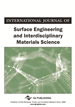 International Journal of Surface Engineering and Interdisciplinary Materials Science, Volume 4, Issue 1