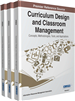 Curriculum Design and Classroom Management: Concepts, Methodologies, Tools, and Applications