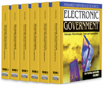 Electronic Government: Concepts, Methodologies, Tools, and Applications
