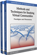 Recurrent Interactions, Acts of Communication and Emergent Social Practice in Virtual Community Settings