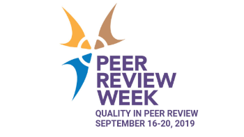 Peer Review Week 2019