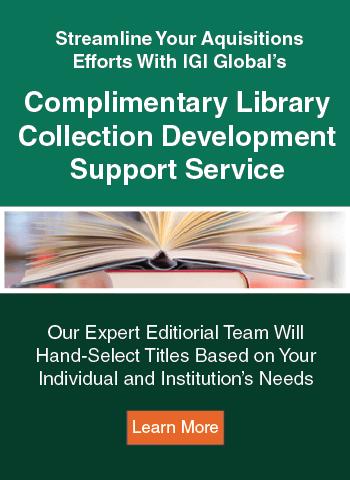 Collection Development Service Advertisement